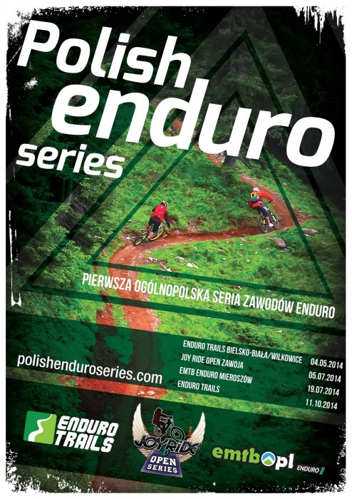 enduro trails poster